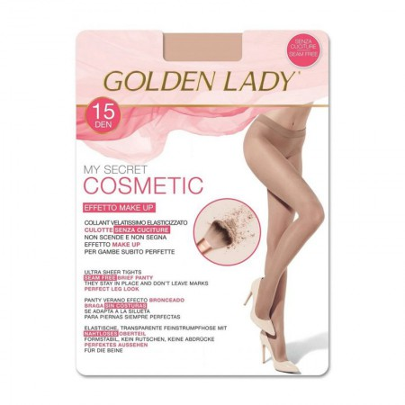 Rajstopy Golden Lady Cosmetic 15 DEN Melon